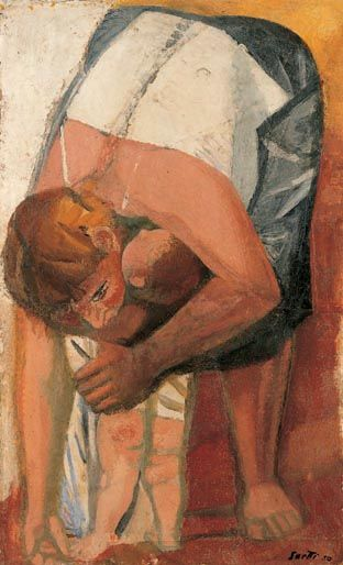 Madre (1950) Bruno Saetti Collezione Farsetti - Prato