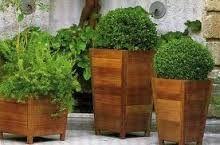 Image result for maceteros de madera