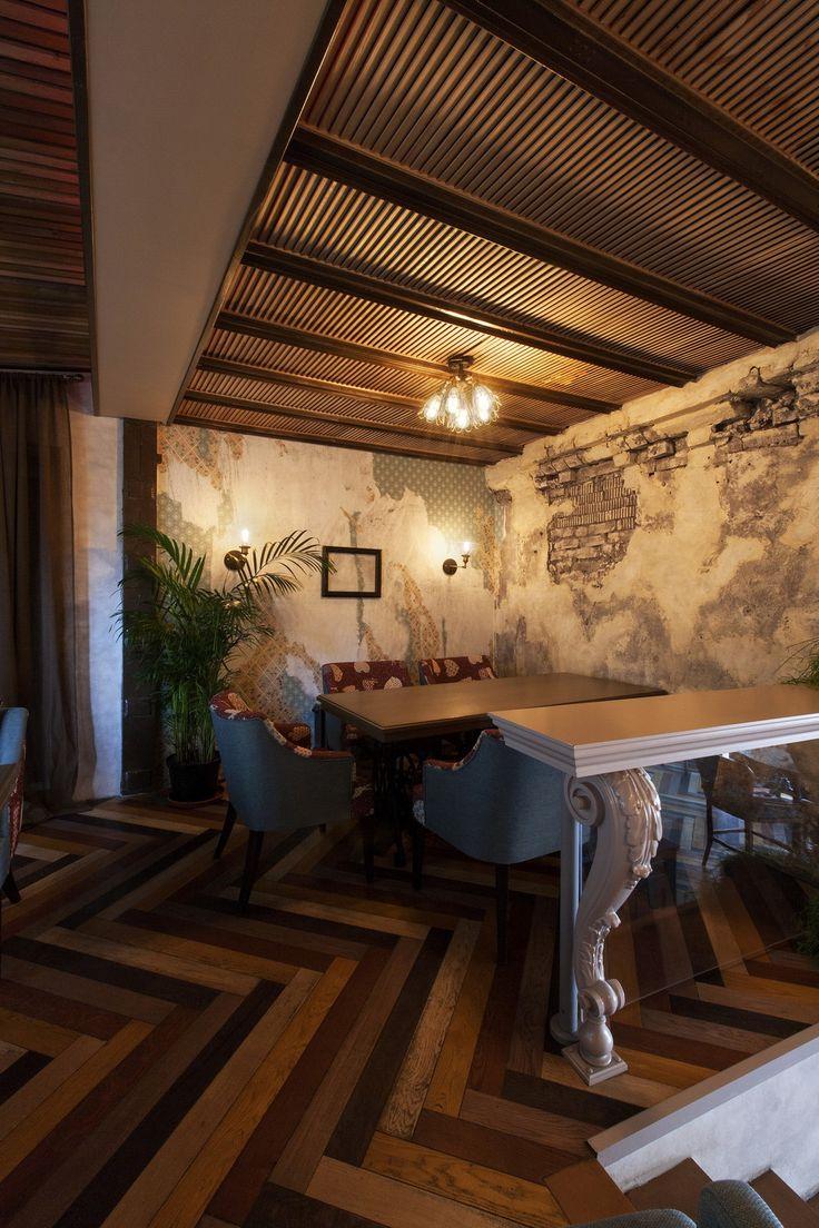 Гастропаб BEER&BRUT - Лучший интерьер ресторана, кафе или бара   PINWIN - конкурсы для архитекторов, дизайнеров, декораторов