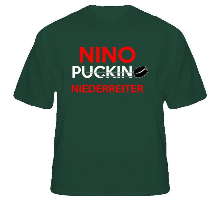 Nino Niederreiter Minnesota Puckin Hockey T Shirt