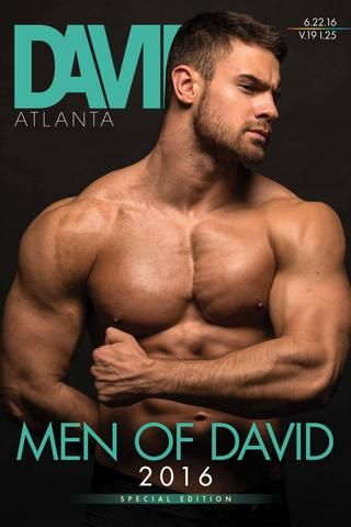 David v19 i25 | June 22, 2016  Men of David 2016, Southern Fried Queer Pride, Gay men's advice to their younger selves, office affairs, more.