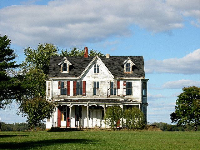 Abandoned Maryland Victorian Farmhouse What A Shame