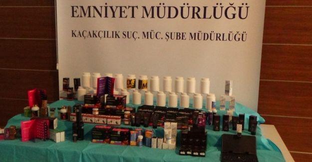 İstanbul'da kaçak sağlık ürünleri operasyonu: 2 gözaltı