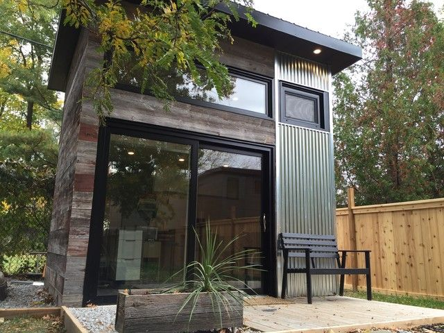 Modern Studio Shed Designs For Backyard Backyard Modern Studio Modern Shed Toronto By Level Design Build Backyard Office Modern Shed Shed Design