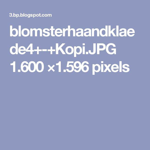 blomsterhaandklaede4+-+Kopi.JPG 1.600 ×1.596 pixels
