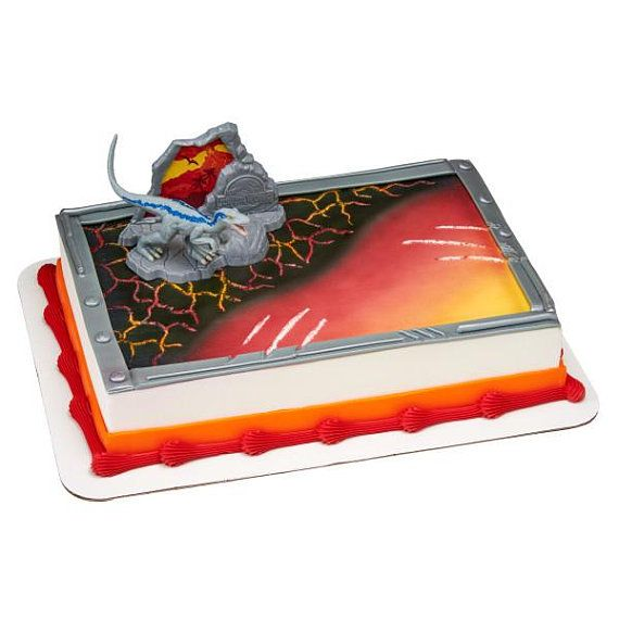 Jurassic World Fallen Kingdom Cake Topper With Images Jurassic