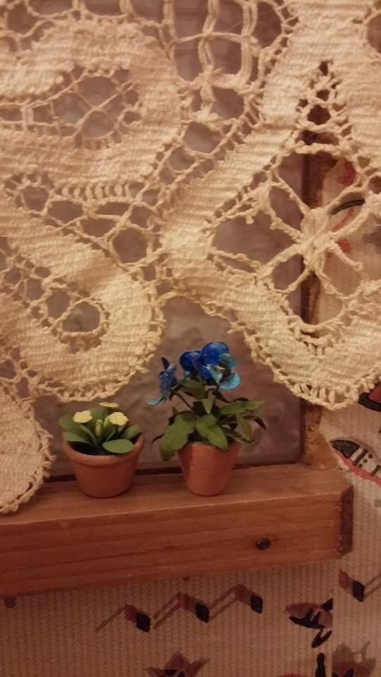 Flower detail, Kitchen #dukkehus #antik #markedslopper