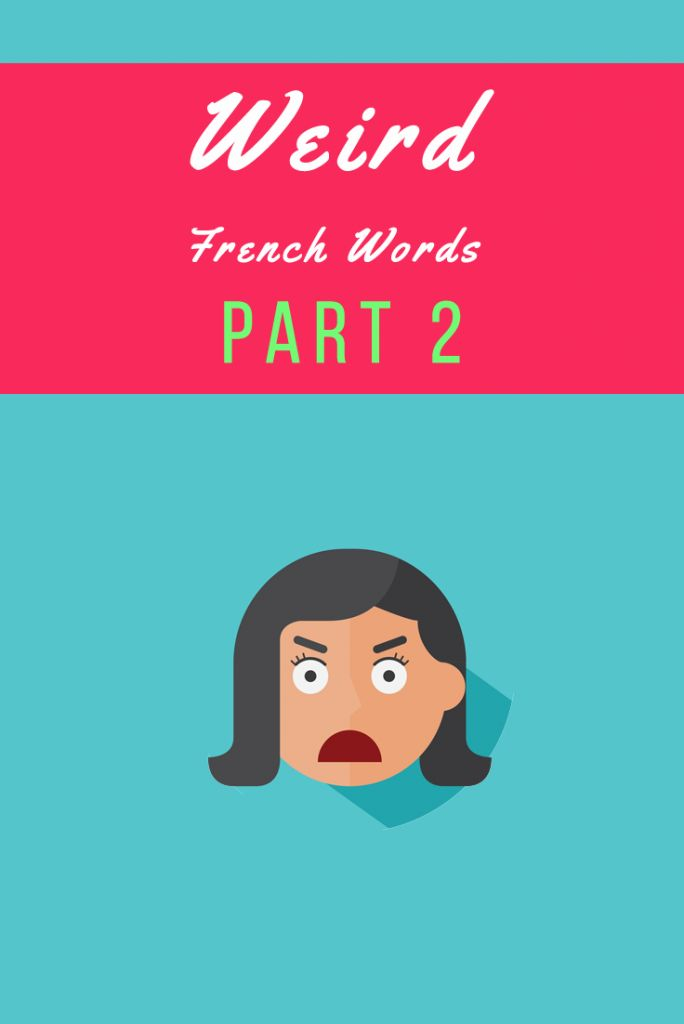 Weird (but mostly brilliant) French Words and Expressions Part 2