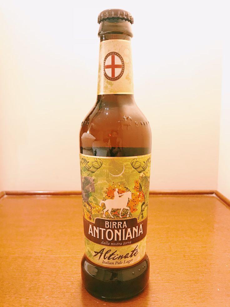 BIRRA ANTONIANA Altinate  Italian Pale Lager Alc 5.2%