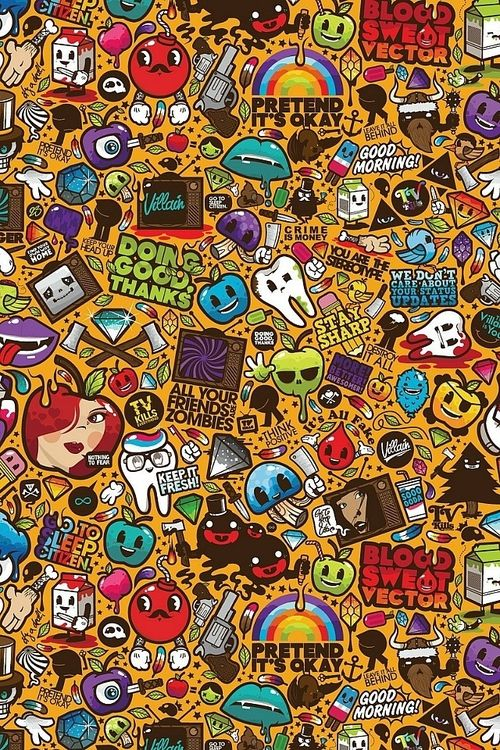 Shared By Ti Find Images And Videos About Cool And Background On We Heart It The App To Get Los Graffiti Wallpaper Iphone Crazy Wallpaper Graffiti Wallpaper Colorful cool wallpapers drawings