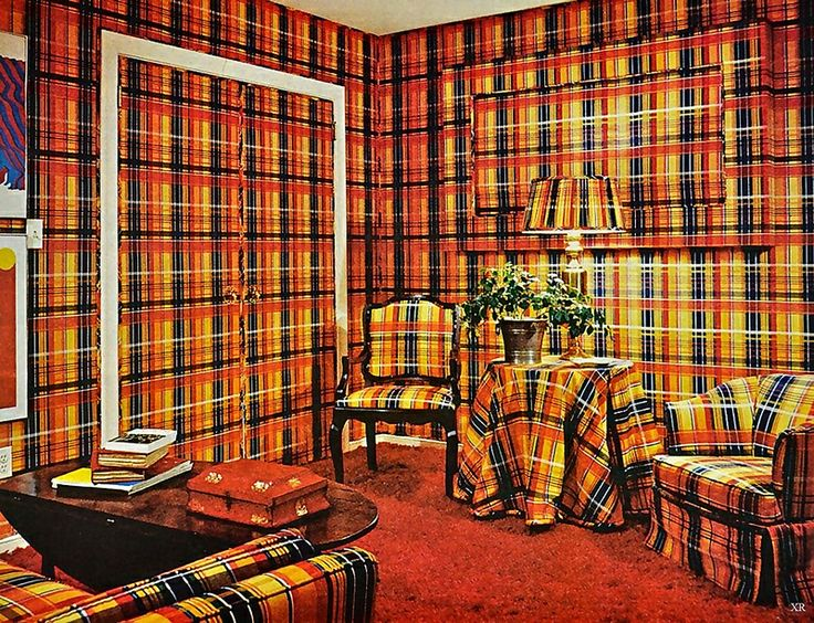Photos The 9 Trends You 39 Ll See In Decor Hell Plaid