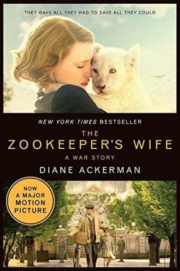The Zookeeper's Wife by Diane Ackerman. Prior to the German invasion of Poland on September 1st 1939, Jan Żabińska is the director of the Warsaw Zoo, and alongside his wife Antonina, they provide residence for the numerous animals and their young son. However, with the occupation of the country by the Nazi invaders, they become active members of the Polish underground resistance; providing saviour for 300 jews from the imprisonment of the Warsaw Ghettos.