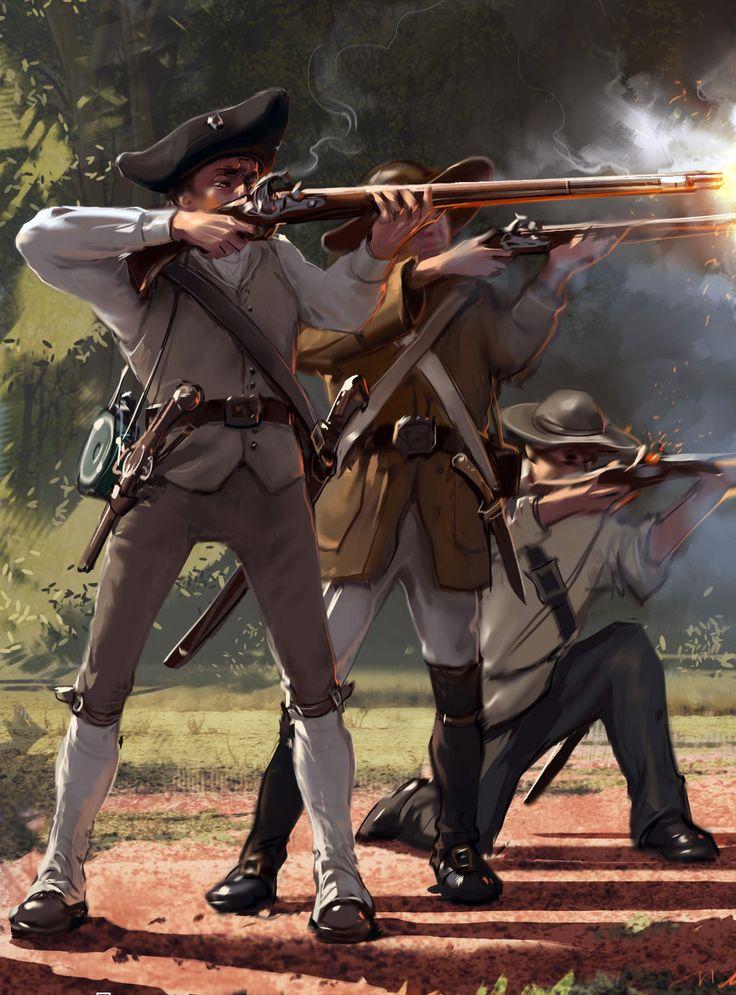 American minutemen, War of Independence