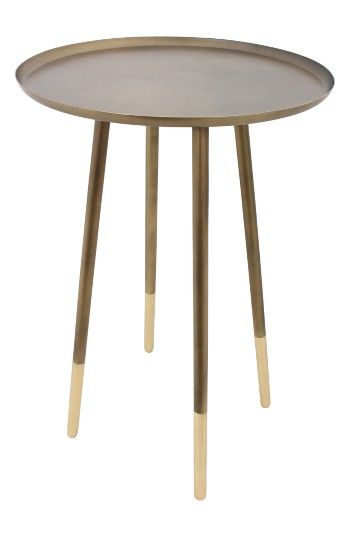 Free shipping and returns on Renwil Iron Accent Table at Nordstrom.com. Showcase magazines or décor on this modern, minimalist accent table in solid iron with antiqued brass at the feet for a retro-inspired touch.