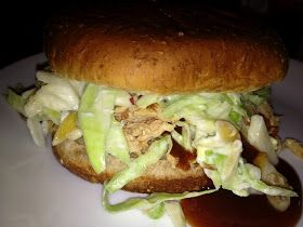Eat Like a Diabetic: Healthy Slow Cooker BBQ Chicken and Coleslaw Sandwiches
