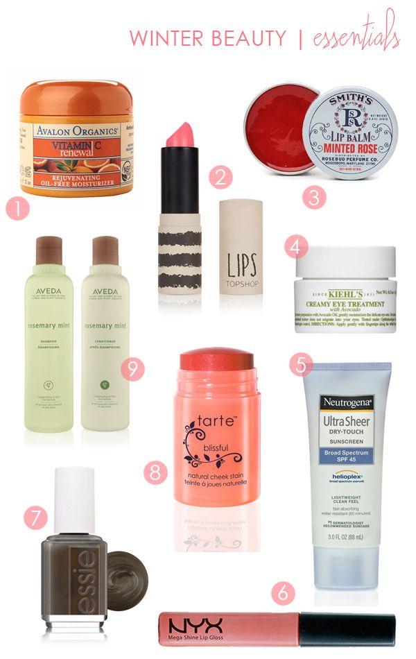 Winter Beauty Essentials