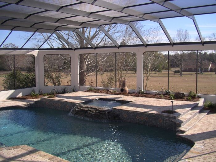 Pool Cages Pool Enclosure Project Project Showcase