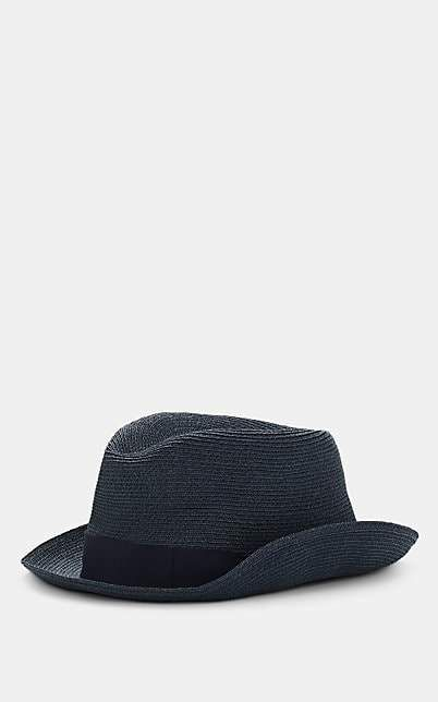Borsalino MEN'S BRAIDED STRAW TRILBY   – Products