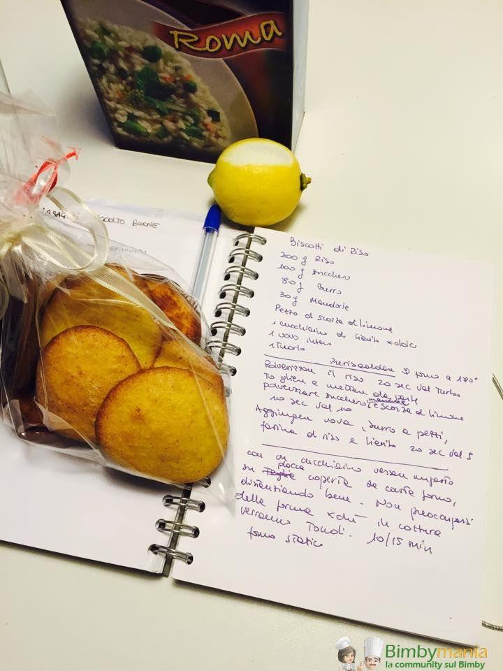 Biscotti di riso Bimby, biscotti con farina di riso da fare al momento e una manciata di mandorle, un dolcetto adatto anche ai celiaci. Ingredienti: ...