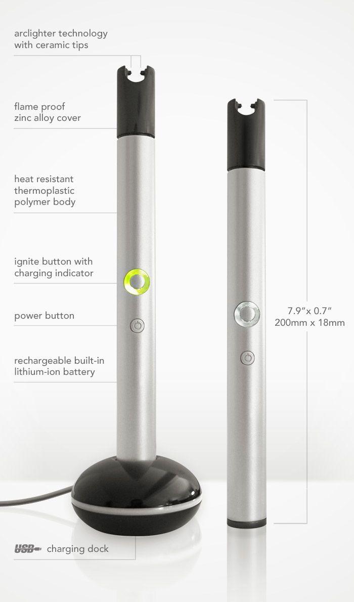 Illume ArcLighter - Flameless, Electronic Candle Lighter by Ignite Lighters Ltd. — Kickstarter