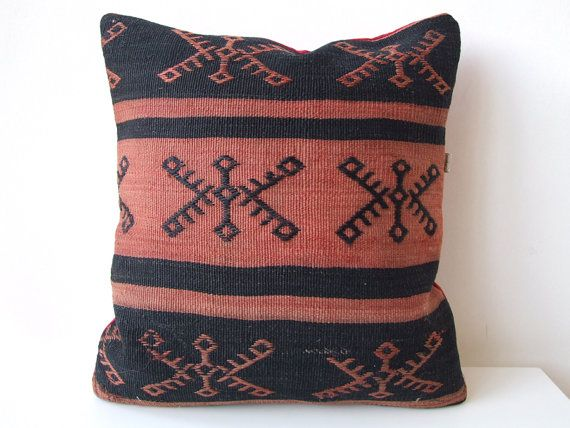 Anatolian - Turkish Rug Pillow Cover (kilim)