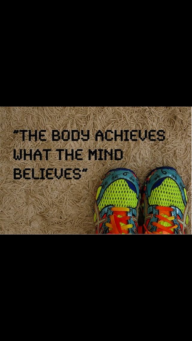 I will run a half marathon!! I think I can! I know I can!