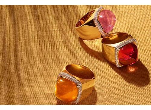Fred Paris gli anelli con gemme intercambiabili
