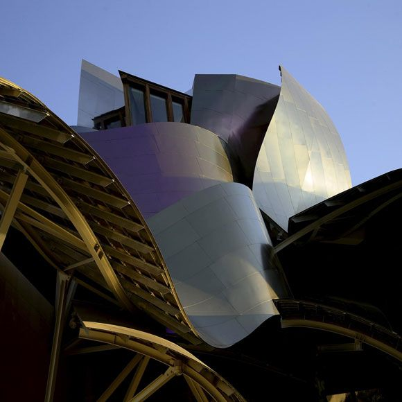 Top 5 Design Wineries in La Rioja, #Spain : Hotel Marqués de Riscal