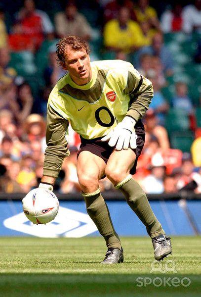jens lehmann portero de la Escuadra invencible del Arsenal (03 - 04 temporada)
