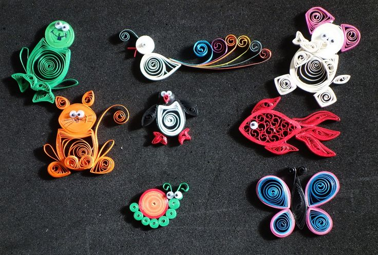 quilled animals specially for kids