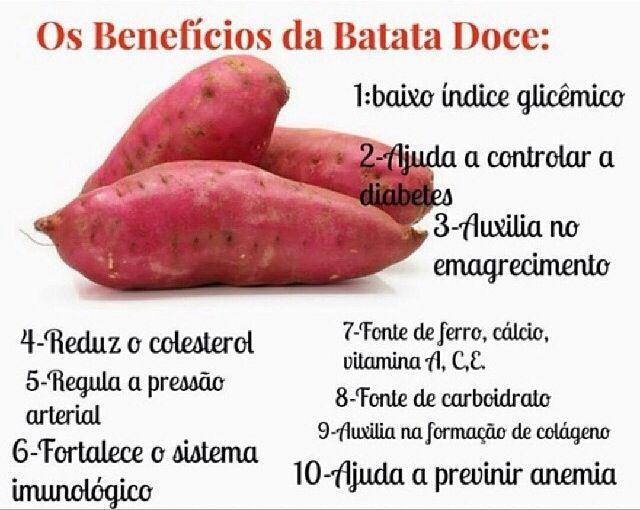 os benefícios da batata doce