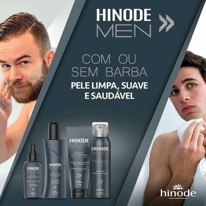 A linha Hinode Men tem a combinação perfeita para um barbear preciso e saudável: Espuma de barbear, Balm Pós-Barba, Shampoo e Óleo para Barba. Limpa, refresca, hidrata e dá muito mais maciez. Com ou sem barba, pele limpa, suave e saudável!  #hinode #hinodemen