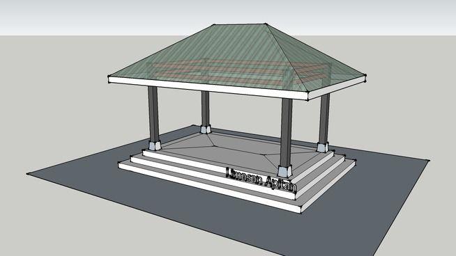 Rumah Jawa - Limasan Apitan - 3D Warehouse