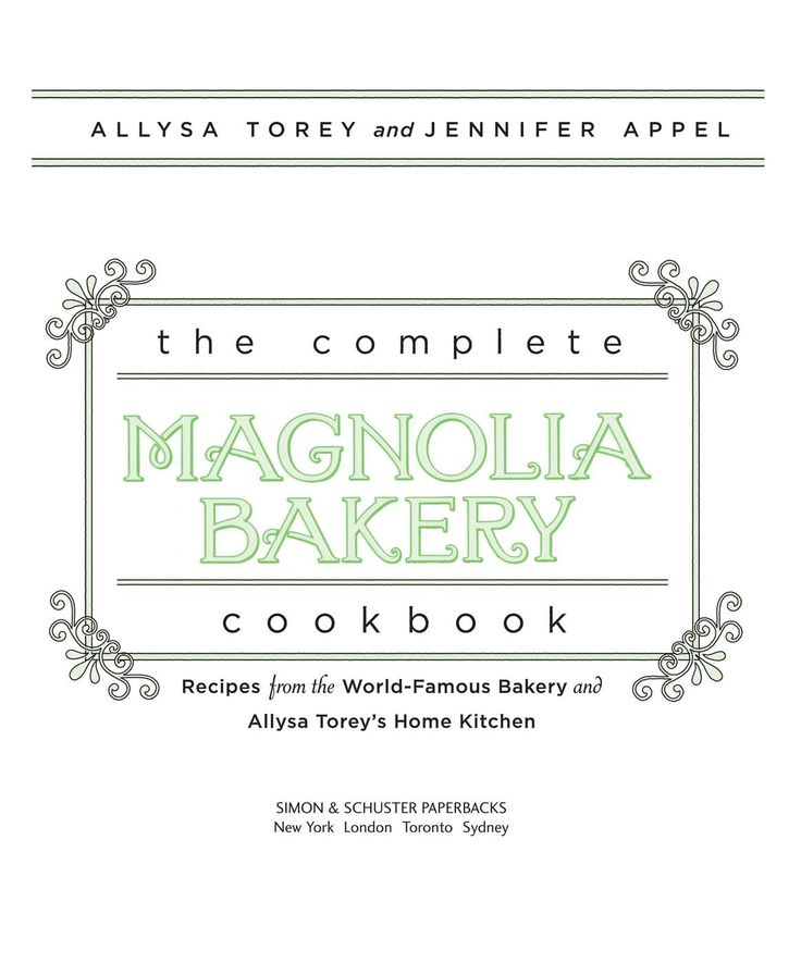 Magnolia Bakery Cookbook - Read Totaly Free Recipe Book - Ebook - epub - My Best Recipe books