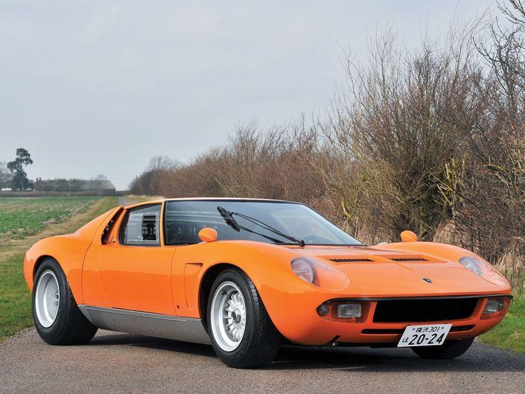 1969 Lamborghini Miura - S 'Jota' | Classic Driver Market