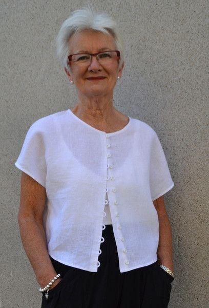 Judy Top - Print At Home or Copy Shop (PDF) - Patterns - Tessuti Fabrics - Online Fabric Store - Cotton, Linen, Silk, Bridal & more