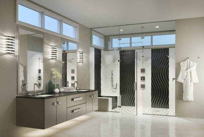 This Spacious Bathroom Was Finished By Basco Shower Enclosures In