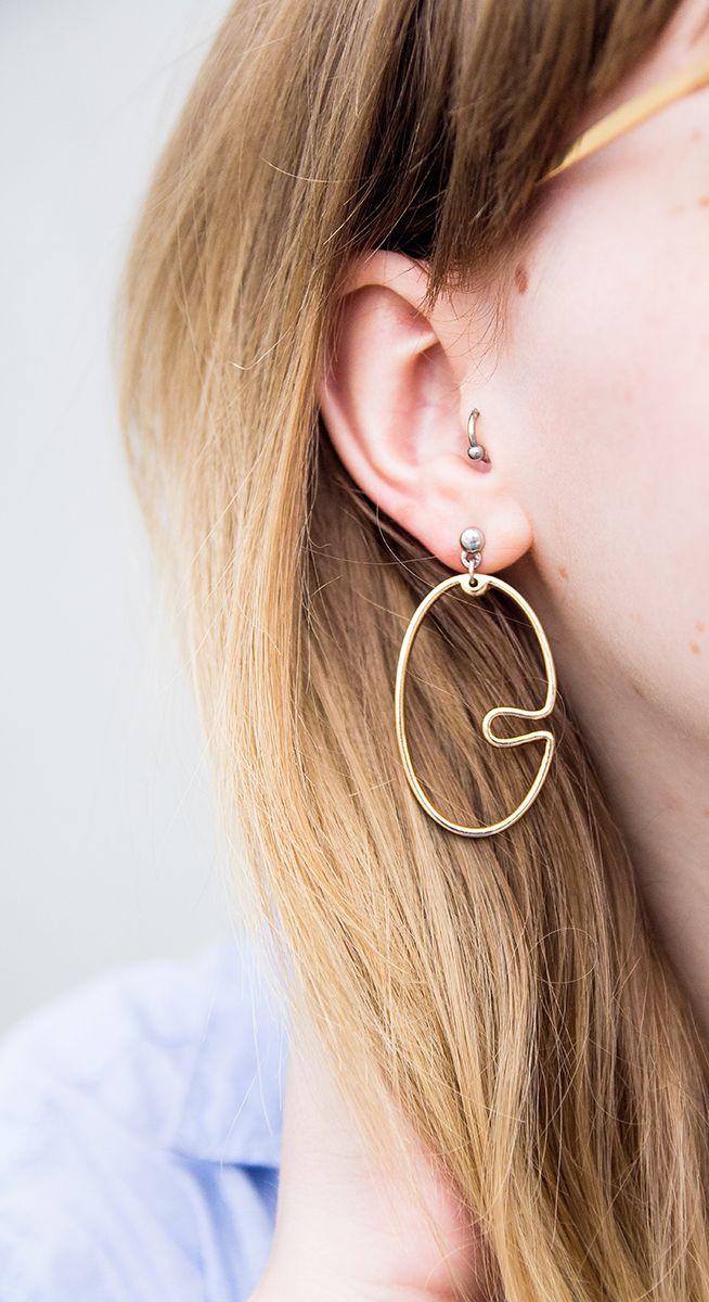 Creolen, Earring, Ohrring, Detail, Mango, Trend, Statement