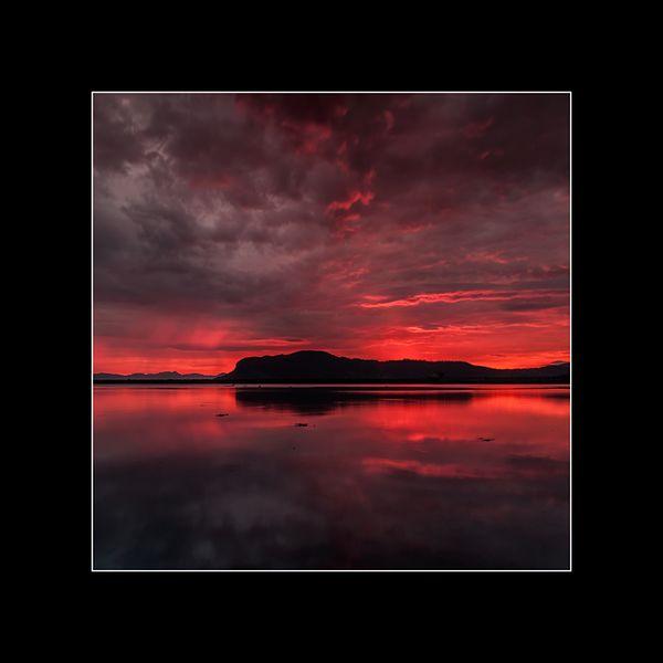 Zdjęcie w ramie 50 x 50 Norwegia, krajobraz - Jacek_Falmur_Photography - Fotografia kolorowa