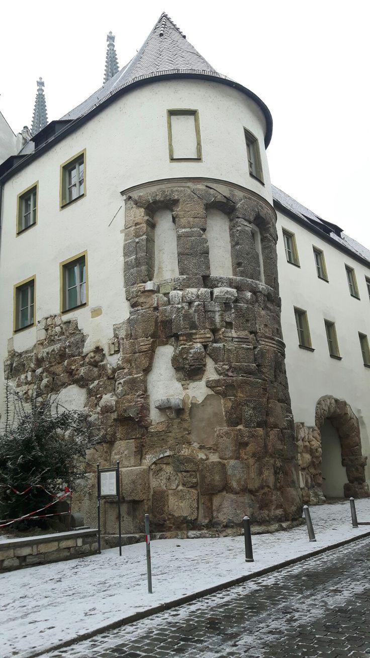 Porta Praetoria di Regina Castra. II sec.d.C. Regensburg