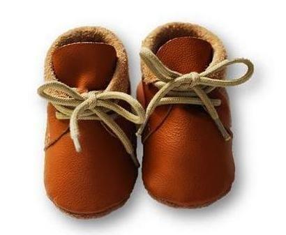 mokasynki JASNY BRĄZ Leather Baby Shoes Moccassins Light Brown https://fiorino.eu/