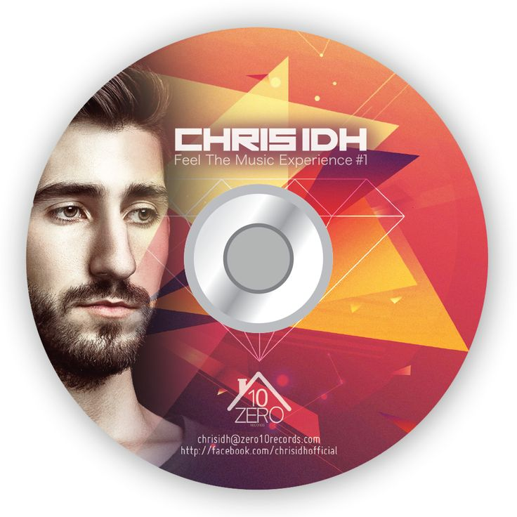 Chris iDH /// Cd Cover Design by AlexNeuf