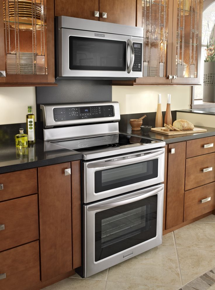 Electric Kitchen Stoves And Ovens ~ Images about double oven ranges on pinterest stove