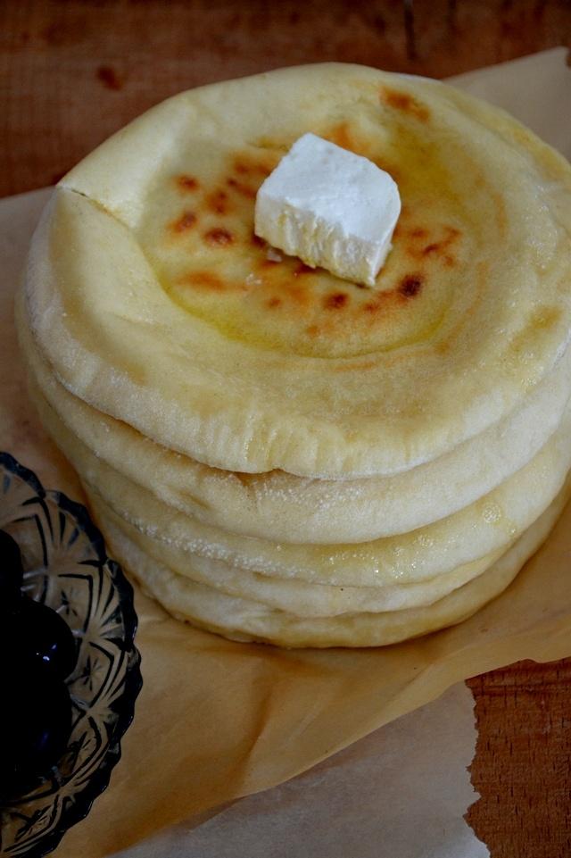 Bazlama..turkish flatbread