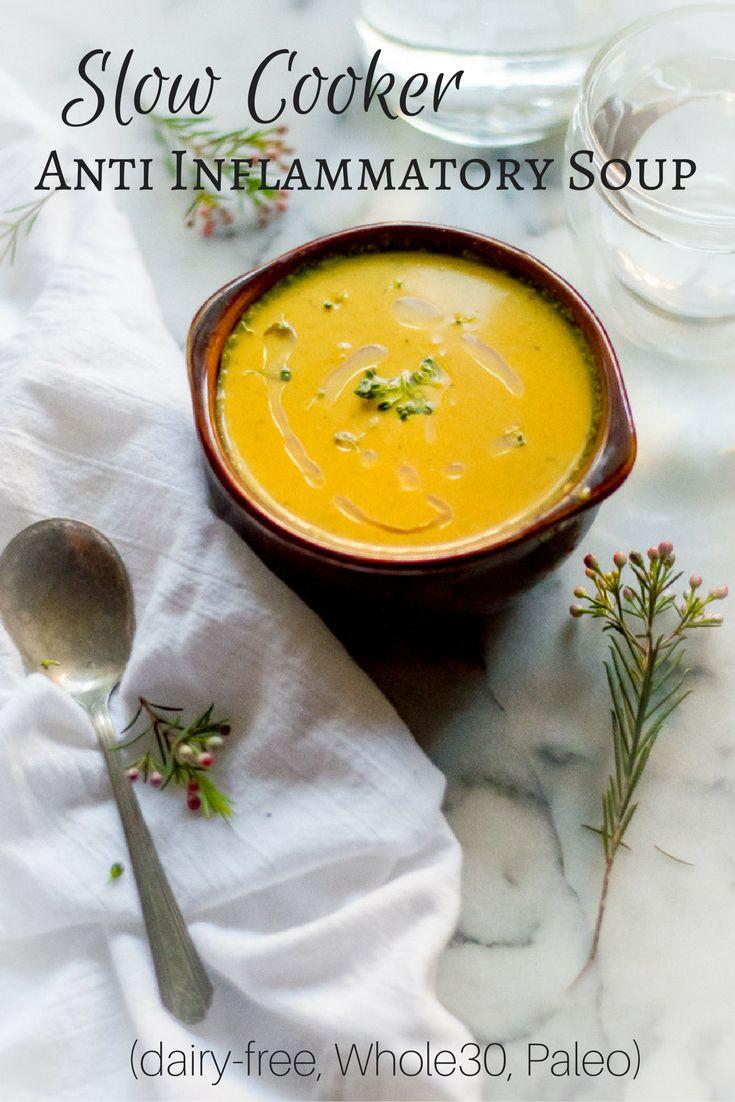 Slow Cooker Anti Inflammatory Soup