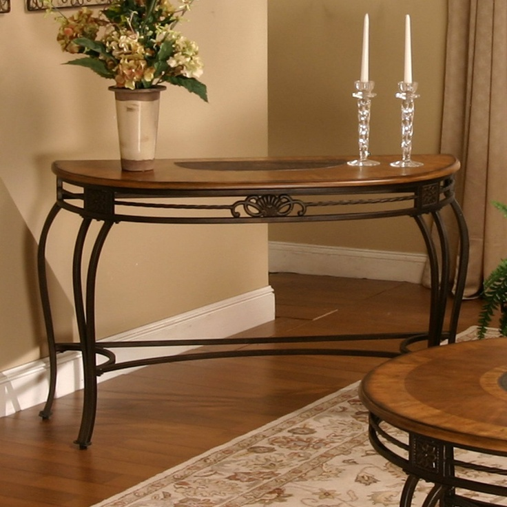 Cramco 63349-99 Ivy Hill Crescent Sofa Table - Home Furniture Showroom