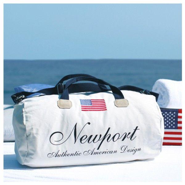 Freizeittasche Cypress Point weiss Newport Collection