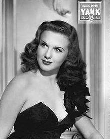 """Deanna Durbin - Born Edna Mae Durbin at Grace Hospital in Winnipeg, Manitoba, Canada.  """"Winnipeg's Golden Girl""""  - In 1945 and 1947, Deanna Durbin was the top-salaried woman in the United States. Her fan club ranked as the world's largest during her active years."""
