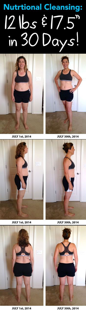 Nutritional Cleansing: 30 Days In and 12 Pounds Down!