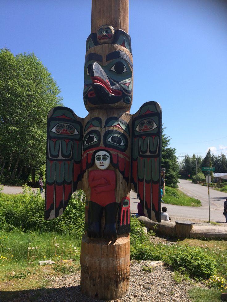 Totem poll Alaska